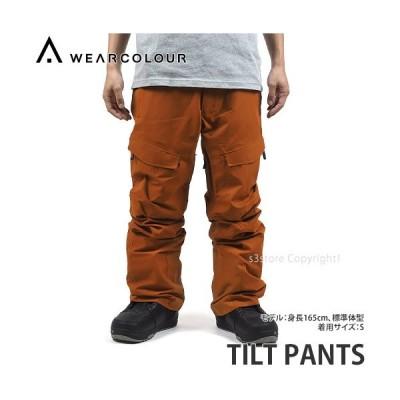 19model ウェアカラー チルト パンツ WEAR COLOUR TILT PANTS スノボ スキー ウエア メンズ 防水 防寒 SNOWBOARD カラー:ADOBE