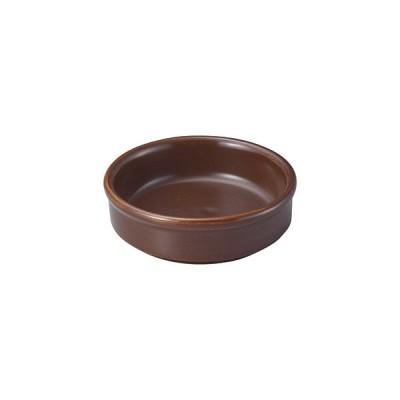 桐井陶器 9cmアヒージョ皿BR S075-101-41ABR