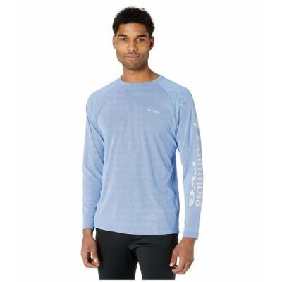 コロンビア シャツ トップス メンズ PFG Terminal Deflector Long Sleeve Shirt Vivid Blue/Cool Grey