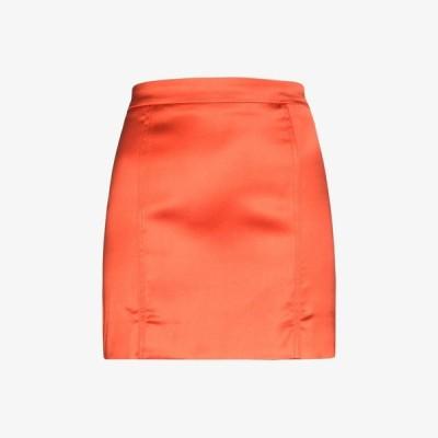 ゲージ81 GAUGE81 レディース ミニスカート スカート Tuscany satin mini skirt orange