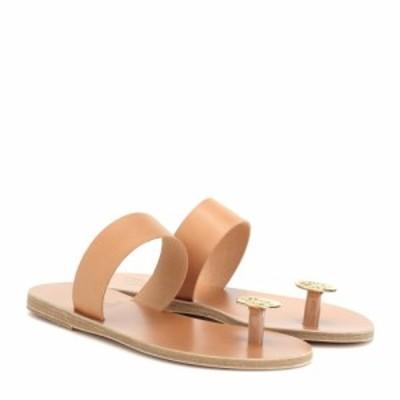 エンシェント グリーク サンダルズ Ancient Greek Sandals レディース サンダル・ミュール シューズ・靴 Thalia Coin leather sandals Na