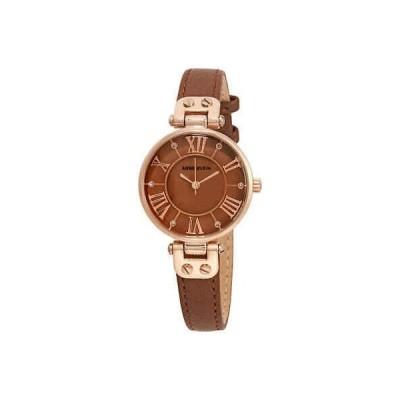 腕時計 アンクライン Anne Klein Brown Dial Ladies Watch 2718RGBN