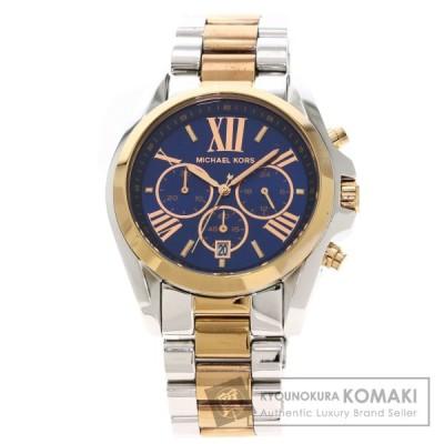 Michael Kors マイケルコース MK-5606 ラウンドフェイス 腕時計  ステンレススチール GP メンズ  中古