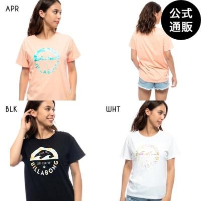 SALE 2021 ビラボン レディース S/S T-SHIRTS Tシャツ  2021年夏モデル  全3色 M/L BILLABONG
