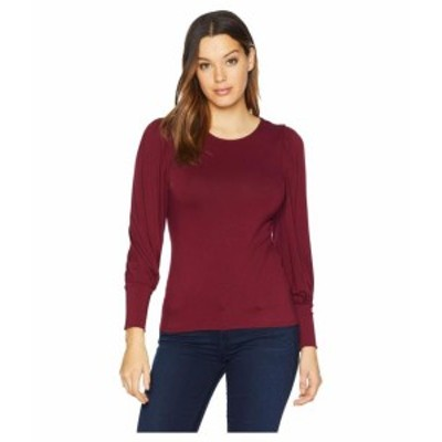 Vince Camuto ヴィンスカムート 服 一般 Bubble Long Sleeve Top