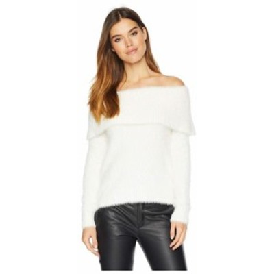 kensie ケンジー 服 スウェット Fur Yarn of the Shoulder Sweater KSNK5921