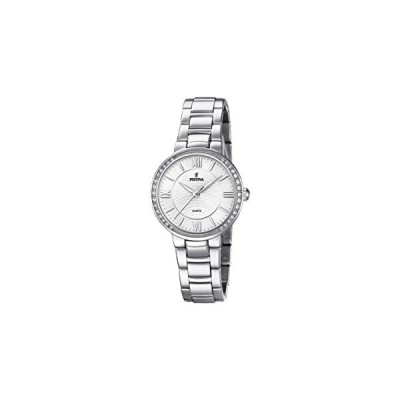 Festina Womens Analogue Classic Quartz Connected Wrist Watch with Stainless Steel Strap F20220/1 並行輸入品