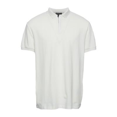 エンポリオ アルマーニ EMPORIO ARMANI ポロシャツ ホワイト XXS コットン 100% ポロシャツ
