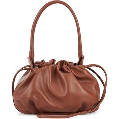 Gu_de レディース ショルダーバッグ バッグ Bonnie brown reversible leather shoulder bag Red