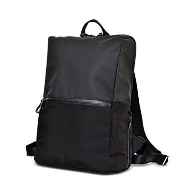 asoboze(アソボーゼ) ビジネスリュック 日本製 リュック バックパック PC収納 ビジネスバッグ タフトサック TOFTSACK(ブラック)