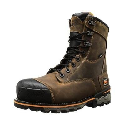 ティンバーランド ブーツ Timberland PRO TB092671214 メンズin Boondock Composite Toe WP Industrial Work Brown Oiled Distressed Leather