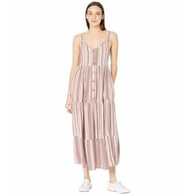 ロキシー レディース ワンピース トップス Breeze On By Dress Andora Brianna Stripe