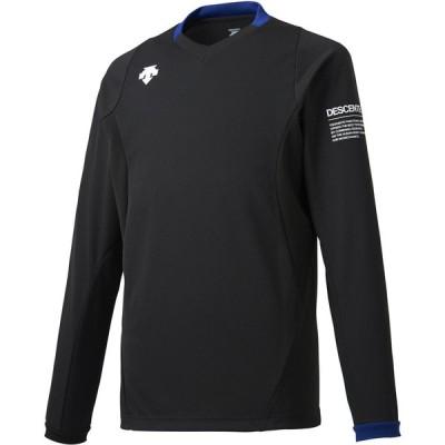 【送料290円】デサント 長袖ライトゲームシャツ ブラック DESCENTE DSS5910 BLK
