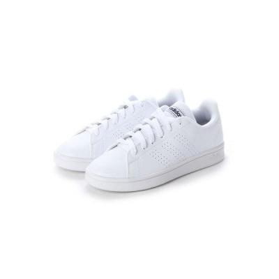 ラナン Ranan 〈adidas〉アドバンコートスニーカー (ホワイト/ネイビー)