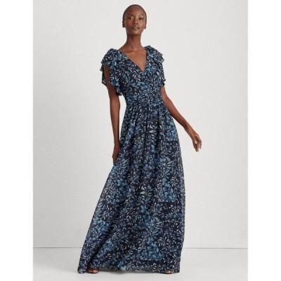 ラルフローレン レディース ワンピース トップス Print Georgette Gown
