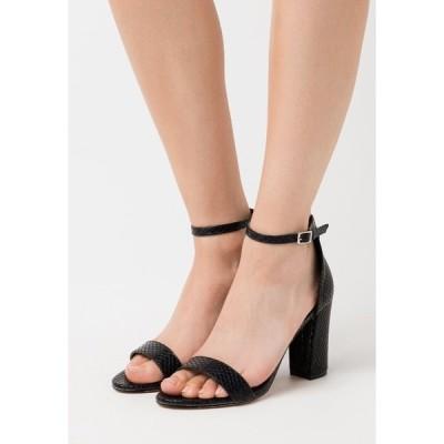 マッデンガール サンダル レディース シューズ BEELLA - High heeled sandals - black