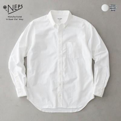 NEPS オックスフォード ボタンダウン シャツ ネップス 日本製 N3101