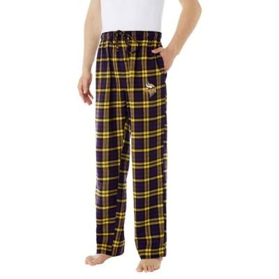 コンセプト スポーツ Concepts Sport メンズ ボトムス・パンツ Minnesota Vikings Parkway Purple Flannel Pants