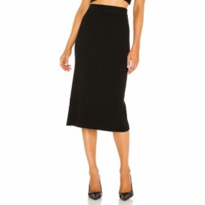 ワングレーデイ One Grey Day レディース スカート X REVOLVE Presley Skirt Black