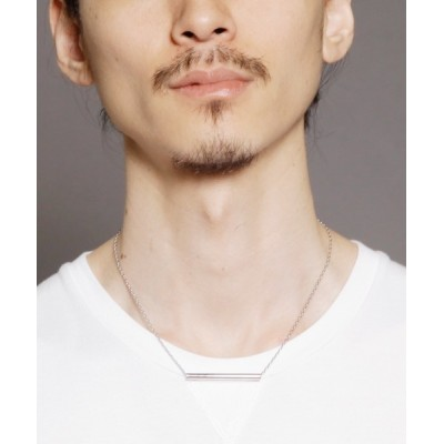 ONE DAY KMC / Genri/【the river mouth】BAR NECKLACE MEN アクセサリー > ネックレス