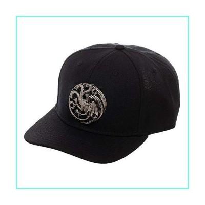 Game Of Thrones House Targaryen 3D Logo Snapback Hat並行輸入品