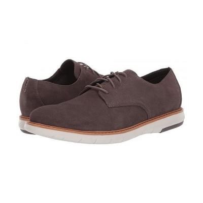 Clarks クラークス メンズ 男性用 シューズ 靴 オックスフォード 紳士靴 通勤靴 Draper Lace - Taupe Suede
