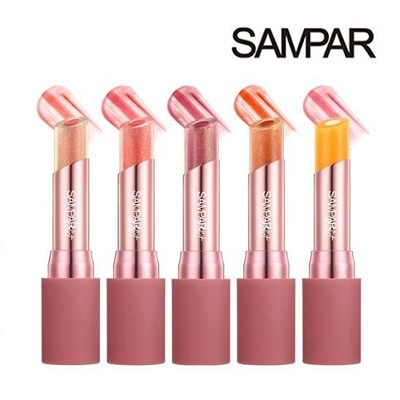 [Sanpar] サンパーアディクトエッセンシャルダブルリングリップバーム 3g Addict Essential DoubleRing Lip Balm日焼け止め UVカット