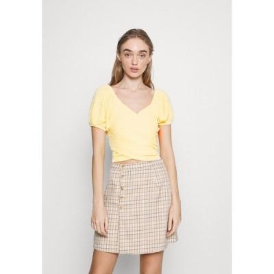 ファッションモンキー シャツ レディース トップス SANABRIA - Blouse - yellow
