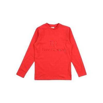 ヘンリー コットンズ HENRY COTTON'S T シャツ レッド 16 コットン 95% / ポリウレタン 5% T シャツ