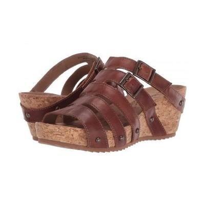 Walking Cradles ウォーキングクレイドル レディース 女性用 シューズ 靴 ヒール Tetra - Chestnut Rustic Leather