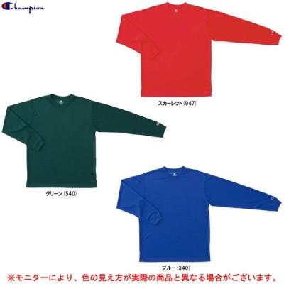 Champion(チャンピオン)TEAM LONG SLEEVE T-SHIRT(C3MB491)スポーツ トレーニング バスケットボール 大きいサイズ Tシャツ ロンT 長袖 メンズ