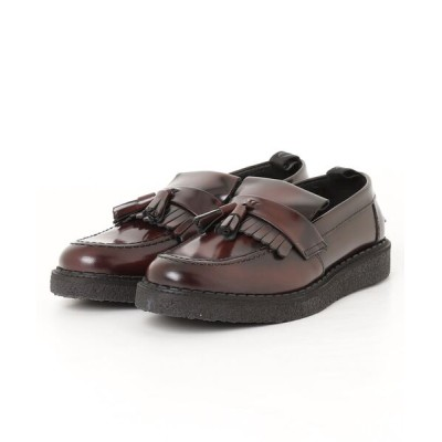 atmos pink / FRED PERRY × GEORGE COX TASSEL LOAFER (OX BLOOD) b9278-158 MEN シューズ > スニーカー