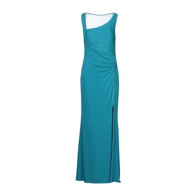 BAGATELLE ロングワンピース&ドレス ターコイズブルー 48 ポリエステル 92% / ポリウレタン 8% ロングワンピース&ドレス