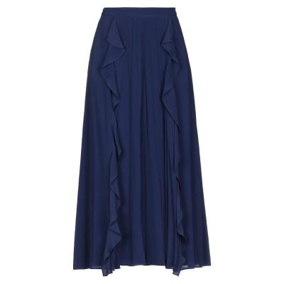 RAME 7分丈スカート ブルー 0 アセテート 65% / シルク 35% / レーヨン 7分丈スカート