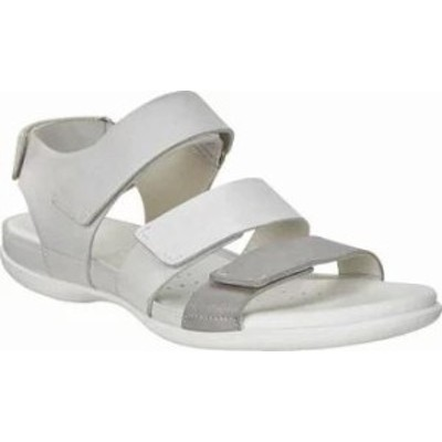 ECCO レディースサンダル ECCO Flash Strap Walking Sandal Wild Dove/White Shad