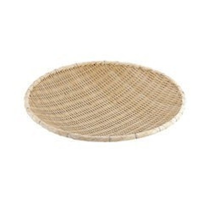 竹製藤巻タメザル 45cm ATM5501