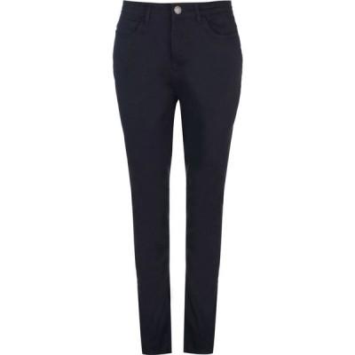 カンゴール Kangol レディース ジーンズ・デニム スキニー ボトムス・パンツ Skinny Stretch Jeans Navy