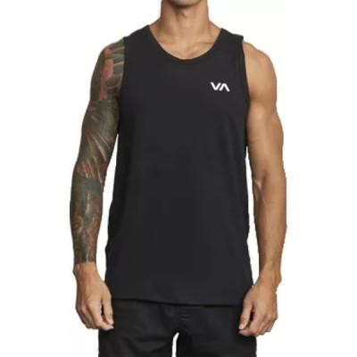 ルーカ シャツ トップス メンズ RVCA Men's Sport Vent Tank Top Black