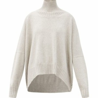 ペーター ペトロフ Petar Petrov レディース ニット・セーター トップス Keaton roll-neck wool sweater Grey