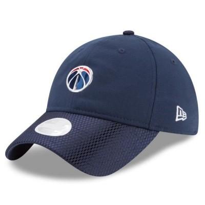 レディース スポーツリーグ バスケットボール Washington Wizards New Era Women's On-Court 9TWENTY Adjustable Hat - Navy - OSFA