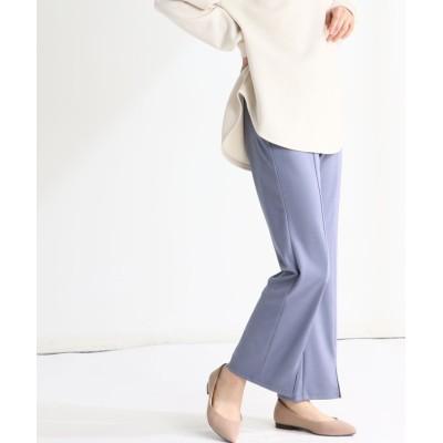 (Honeys/ハニーズ)裾スリットパンツ/レディース ブルー