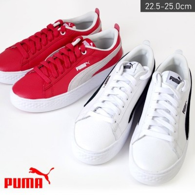 PUMA SMASH PLATFORM L プーマ スマッシュ プラットフォーム スニーカー レディース ローカット レザースニーカー