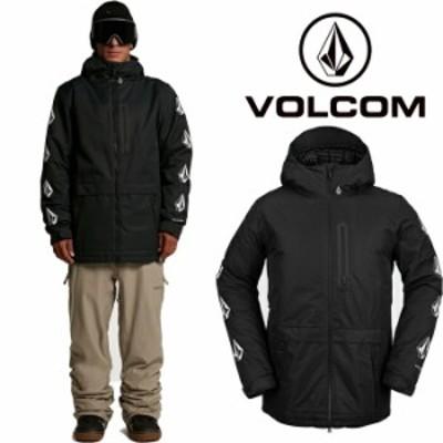 ボルコム ウェア ジャケット 20-21 VOLCOM DEADLY STONES JACKET BLK-Black G0652111 スノーボード 日本正規品