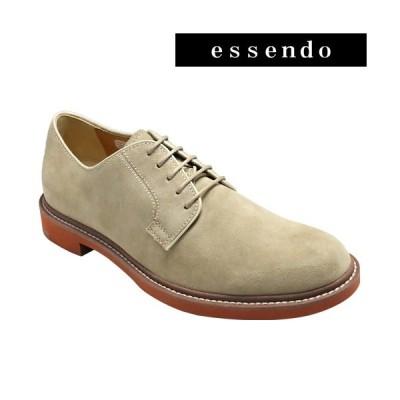 カジュアルシューズリーガル/牛革スエードのカラフルなカジュアルシューズ・RE51MR(ベージュスエード)/REGAL メンズ 靴