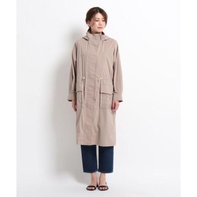 Dessin(Ladies)(デッサン(レディース))【S〜M】タイプライターフーデッドコート