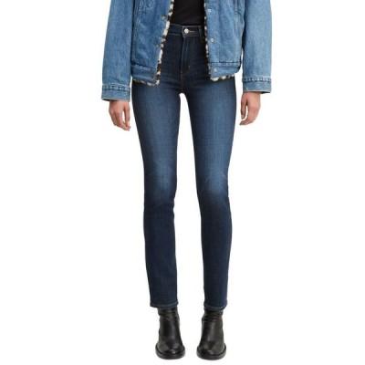 リーバイス レディース デニムパンツ ボトムス Women's 724 Straight-Leg Jeans in Short Length