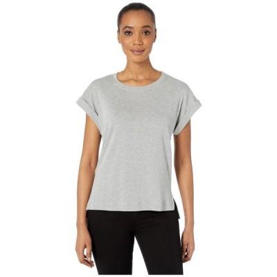 スリードッツ レディース シャツ トップス Cotton Modal Short Sleeve Top
