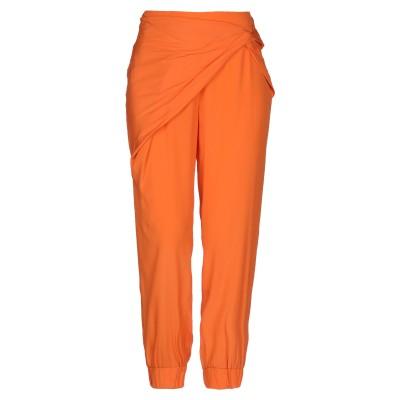 ATOS ATOS LOMBARDINI パンツ オレンジ 40 アセテート 88% / シルク 12% パンツ