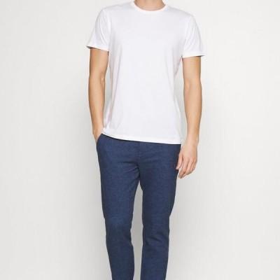エスプリ メンズ ファッション 5 PACK - Basic T-shirt - teal blue