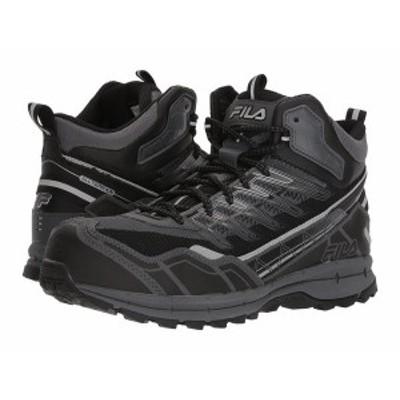 フィラ メンズ スニーカー シューズ Hail Storm 3 Mid Composite Toe Trail Castlerock/Black/Metallic Silver